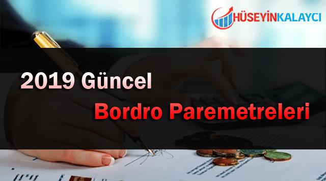 2019 Güncel Bordro Parametreleri